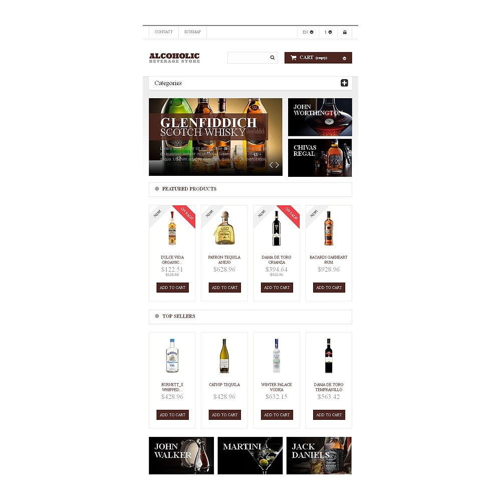 theme - Lebensmittel & Restaurants - Alcoholic Beverages Market - 7