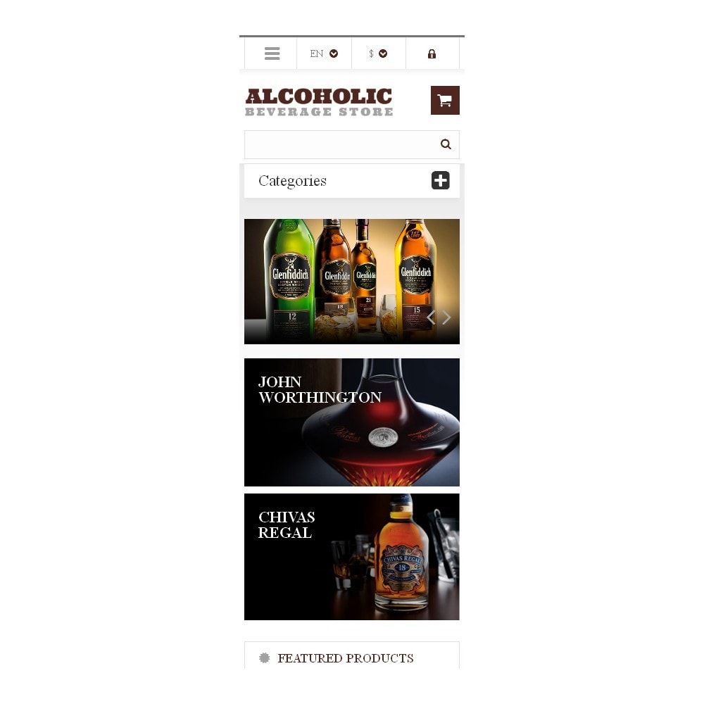 theme - Lebensmittel & Restaurants - Alcoholic Beverages Market - 9