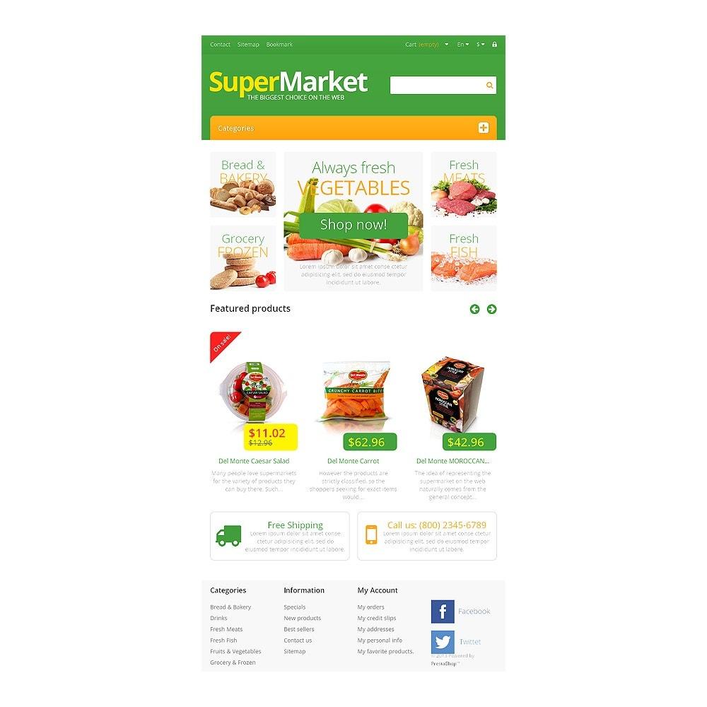 theme - Lebensmittel & Restaurants - Responsive Supermarket - 7