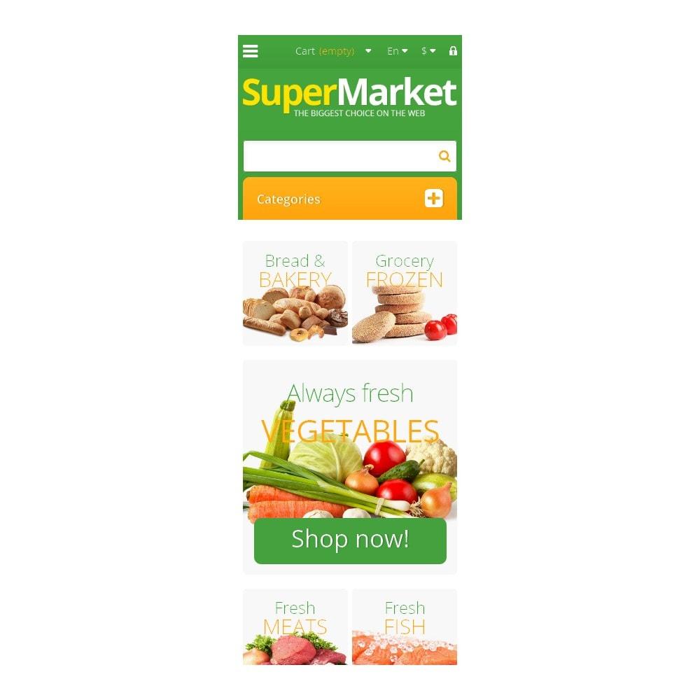 theme - Lebensmittel & Restaurants - Responsive Supermarket - 9