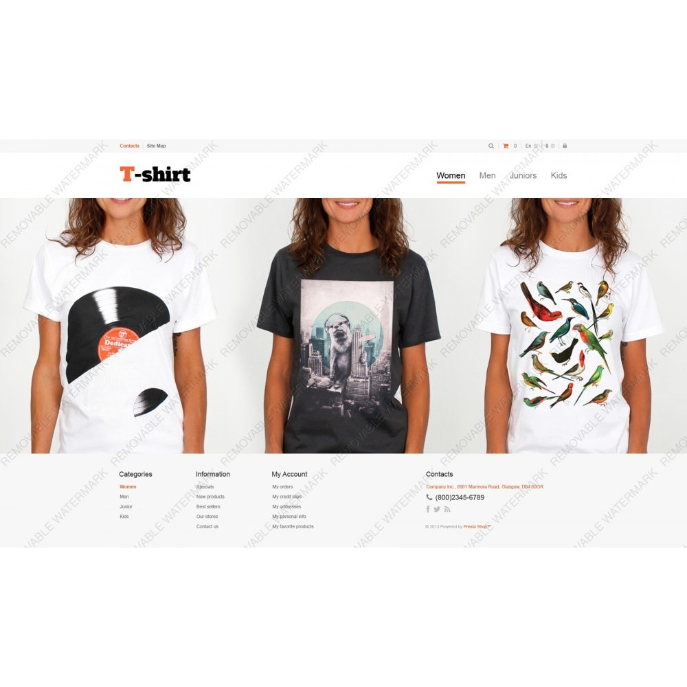 theme - Moda & Calzature - Multipurpose TShirts - 3