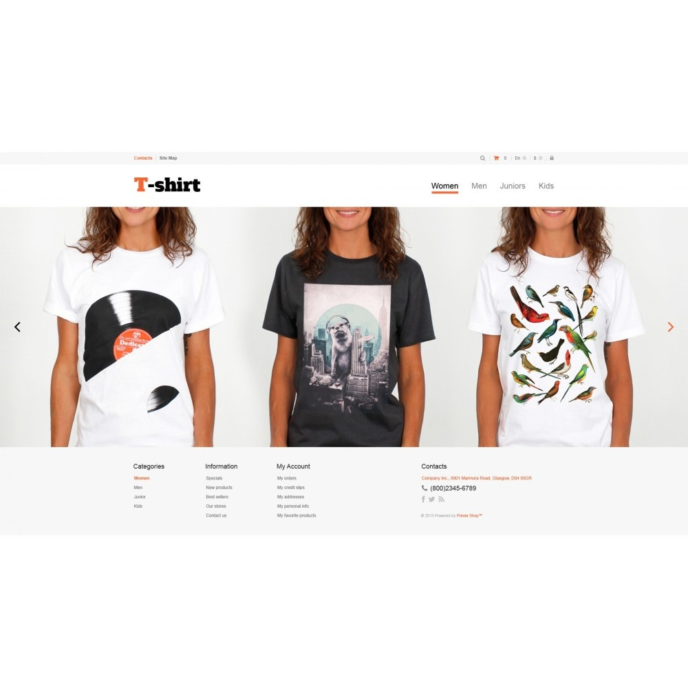 theme - Moda & Calzature - Multipurpose TShirts - 4