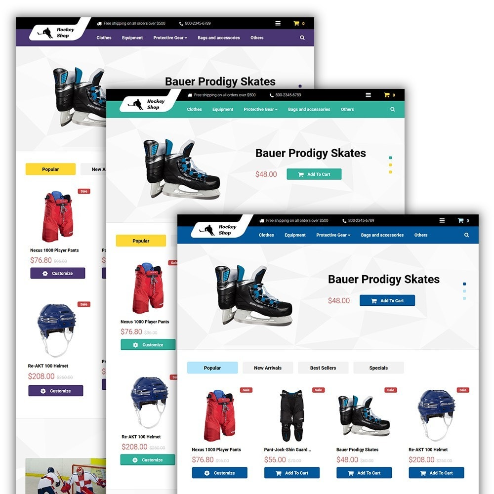 theme - Sport, Aktivitäten & Reise - Hockey Shop - 2