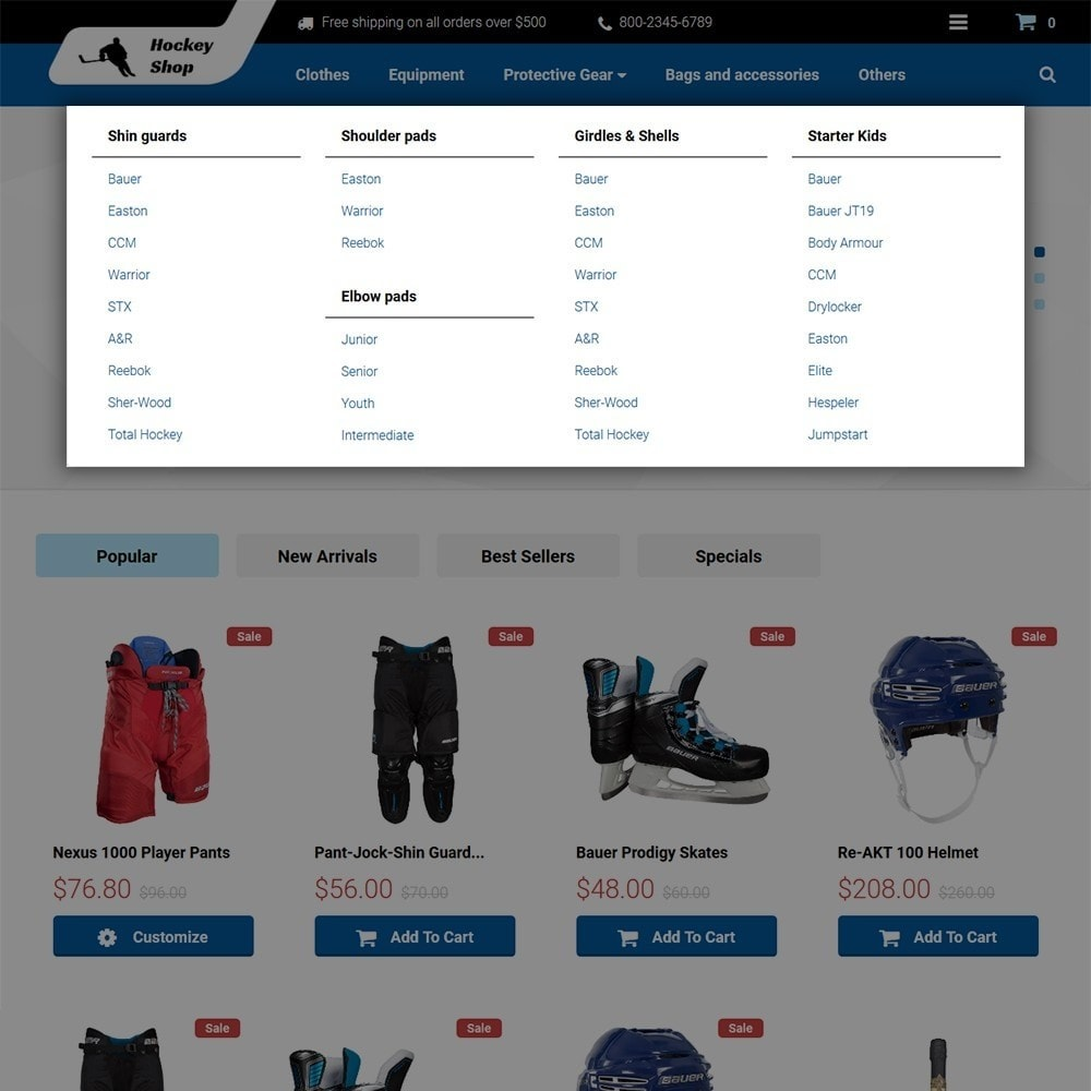 theme - Sport, Attività & Viaggi - Hockey Shop - 3