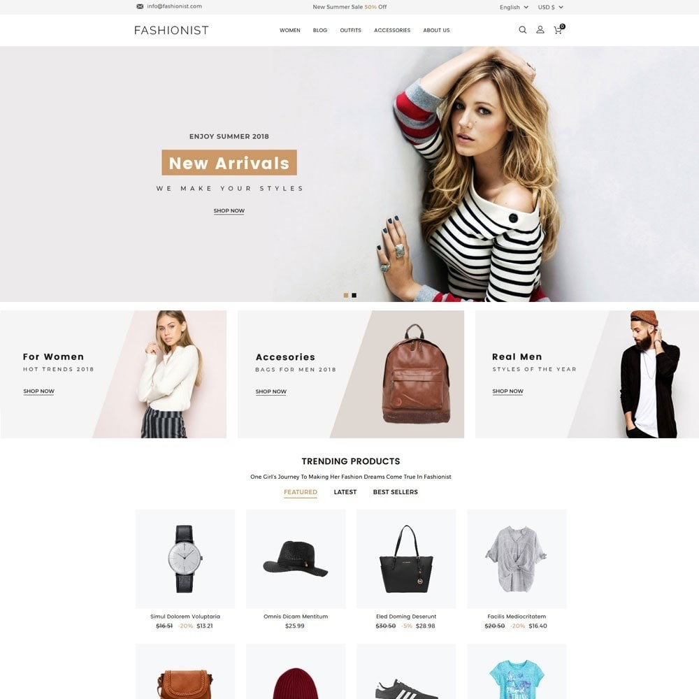 theme - Mode & Schuhe - Fashionist Fashion Store - 2