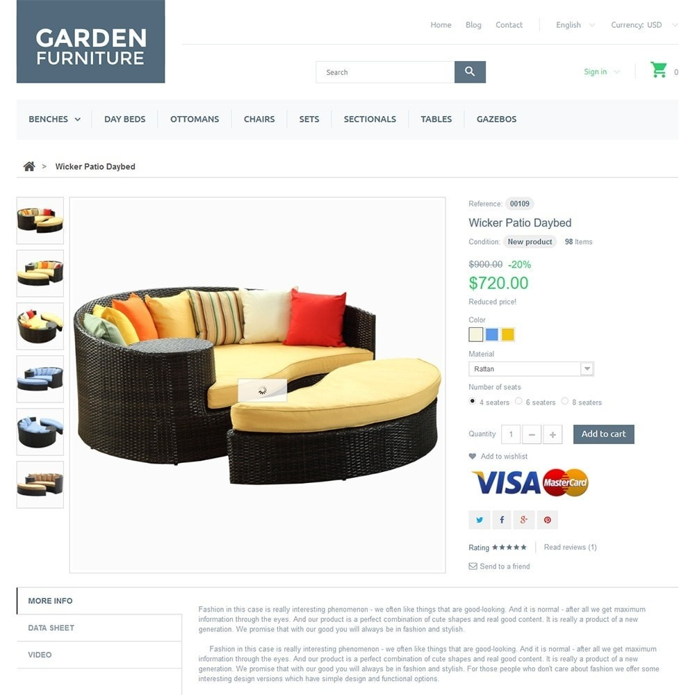 theme - Kultura & Sztuka - Garden Furniture - 3