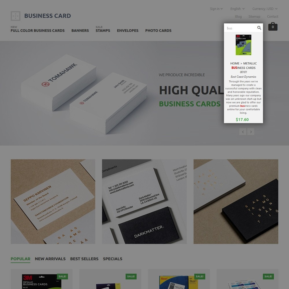 theme - Huis & Buitenleven - Business Card - 6