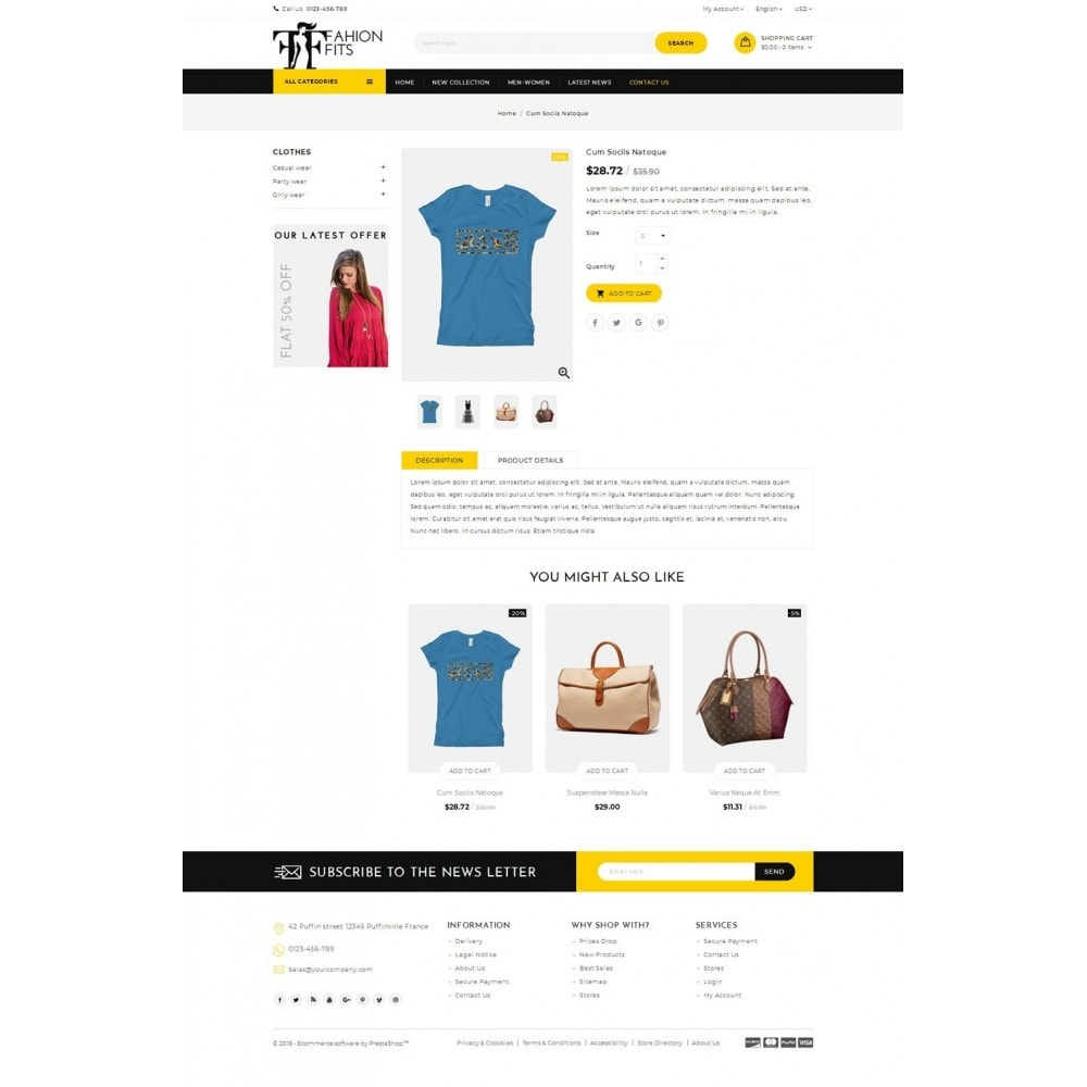theme - Moda & Calçados - Fashion Fits Online Store - 4