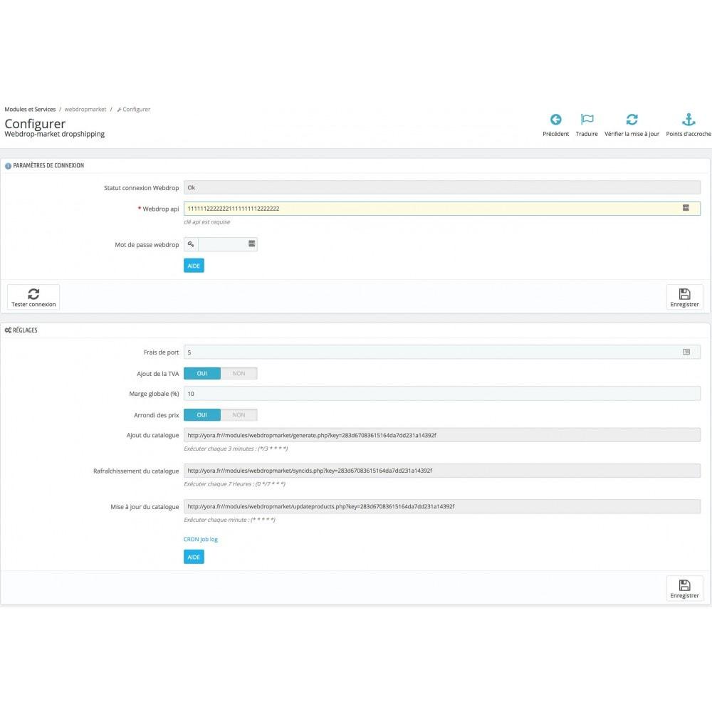 module - Прямых поставок (дропшиппинг) - Dropshipping module webdrop-market - 1