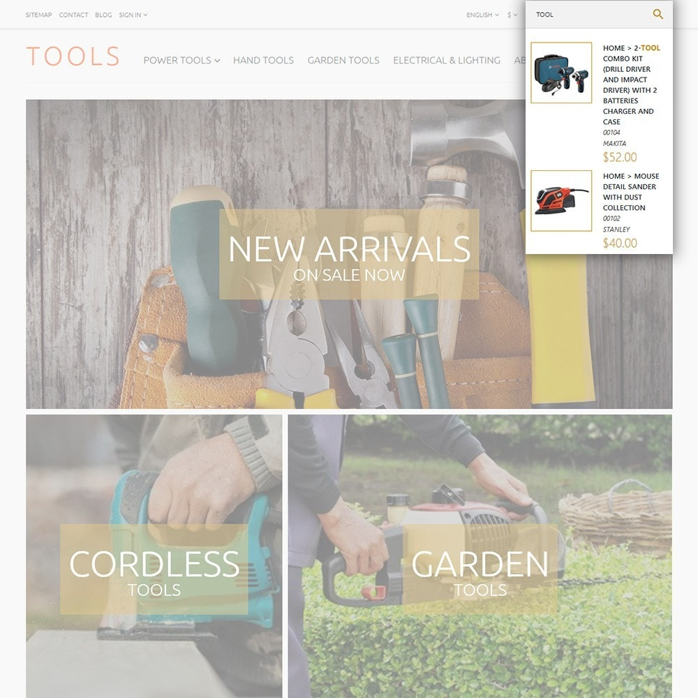 theme - Casa & Jardins - Tools - Tools & Equipment - 6