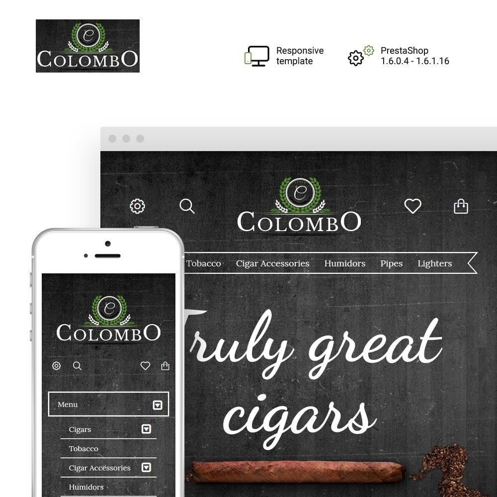 theme - Home & Garden - Colombo - Tobacco & Sigars Store - 1