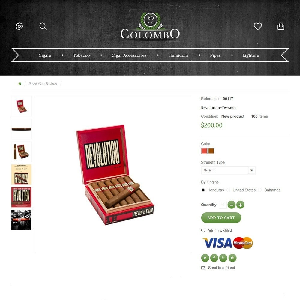 theme - Home & Garden - Colombo - Tobacco & Sigars Store - 3