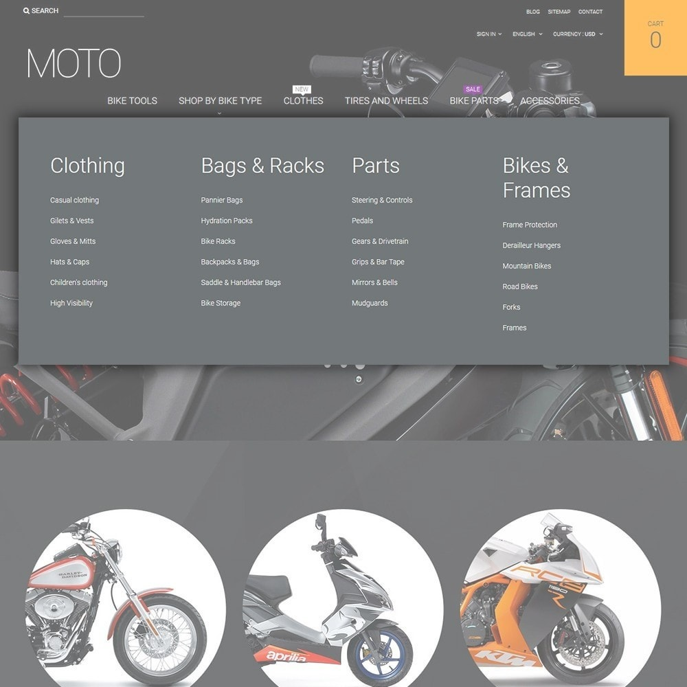 theme - Automotive & Cars - Moto - Bike Shop - 4