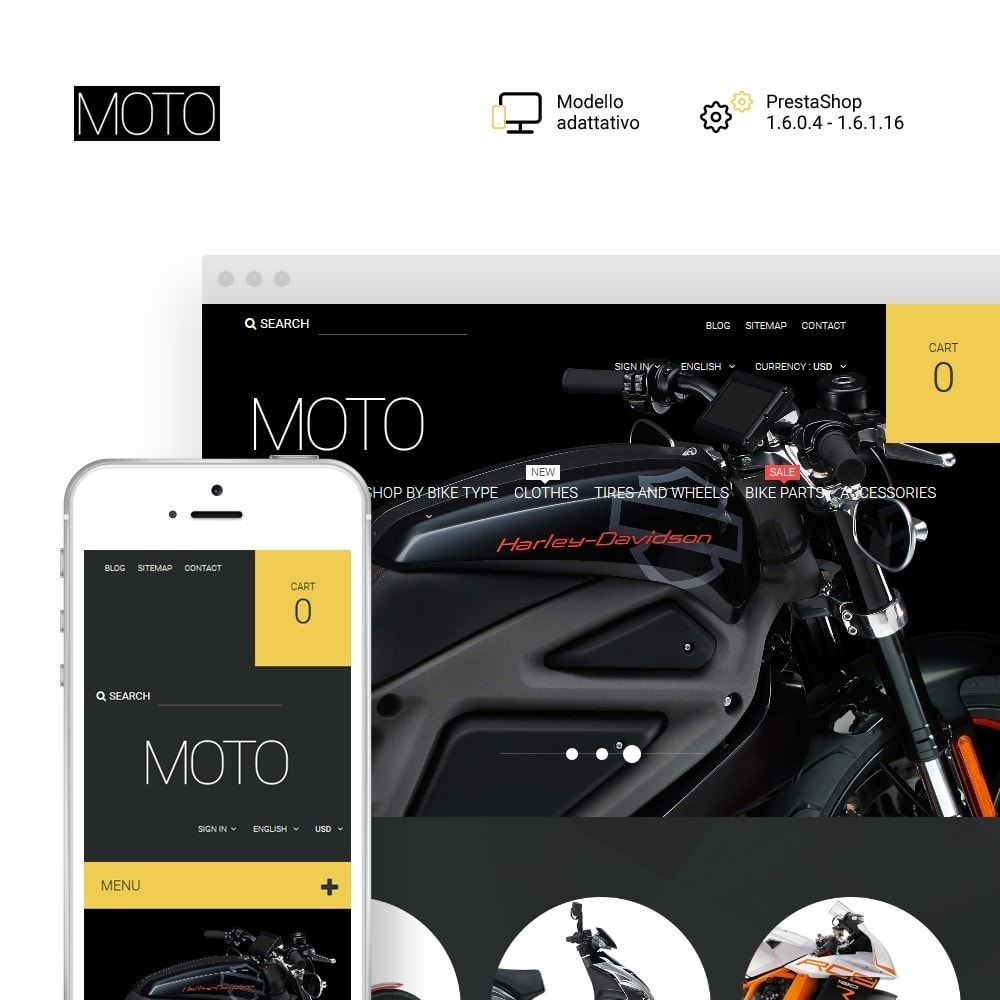 theme - Auto & Moto - Moto - Bike Shop - 1