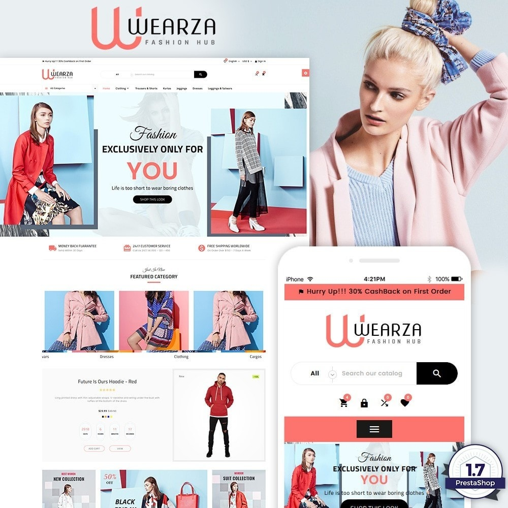 theme - Mode & Chaussures - Wearza – Fashion and Big Super Store - 1