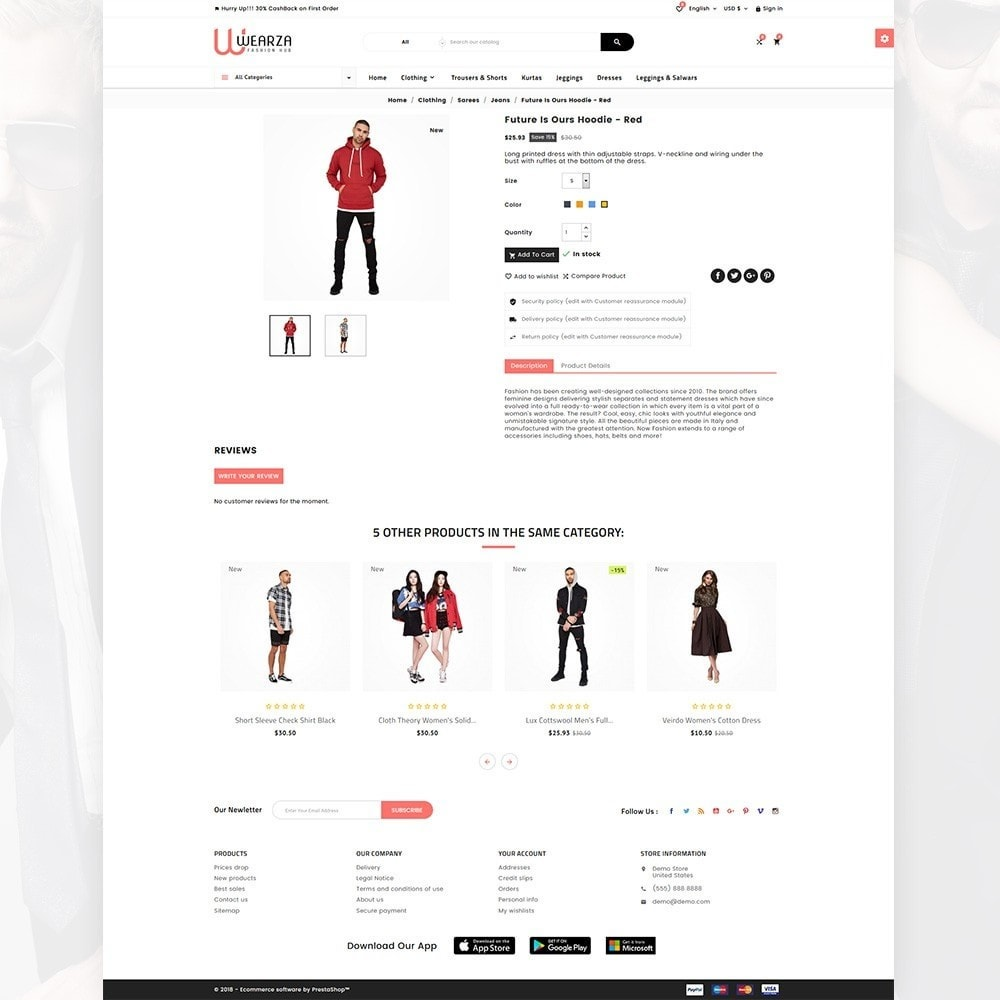 theme - Mode & Chaussures - Wearza – Fashion and Big Super Store - 4