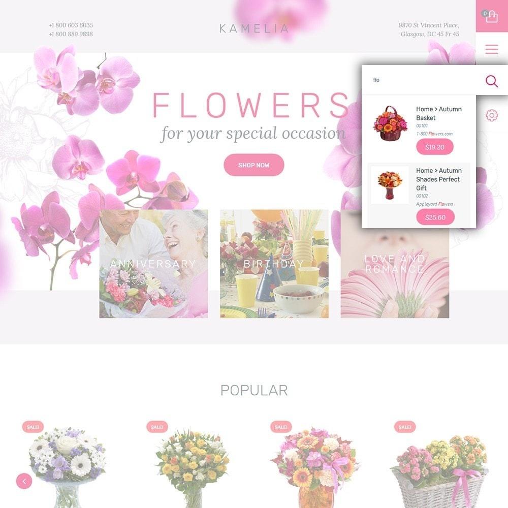 theme - Cadeaux, Fleurs et Fêtes - Kamelia - 6