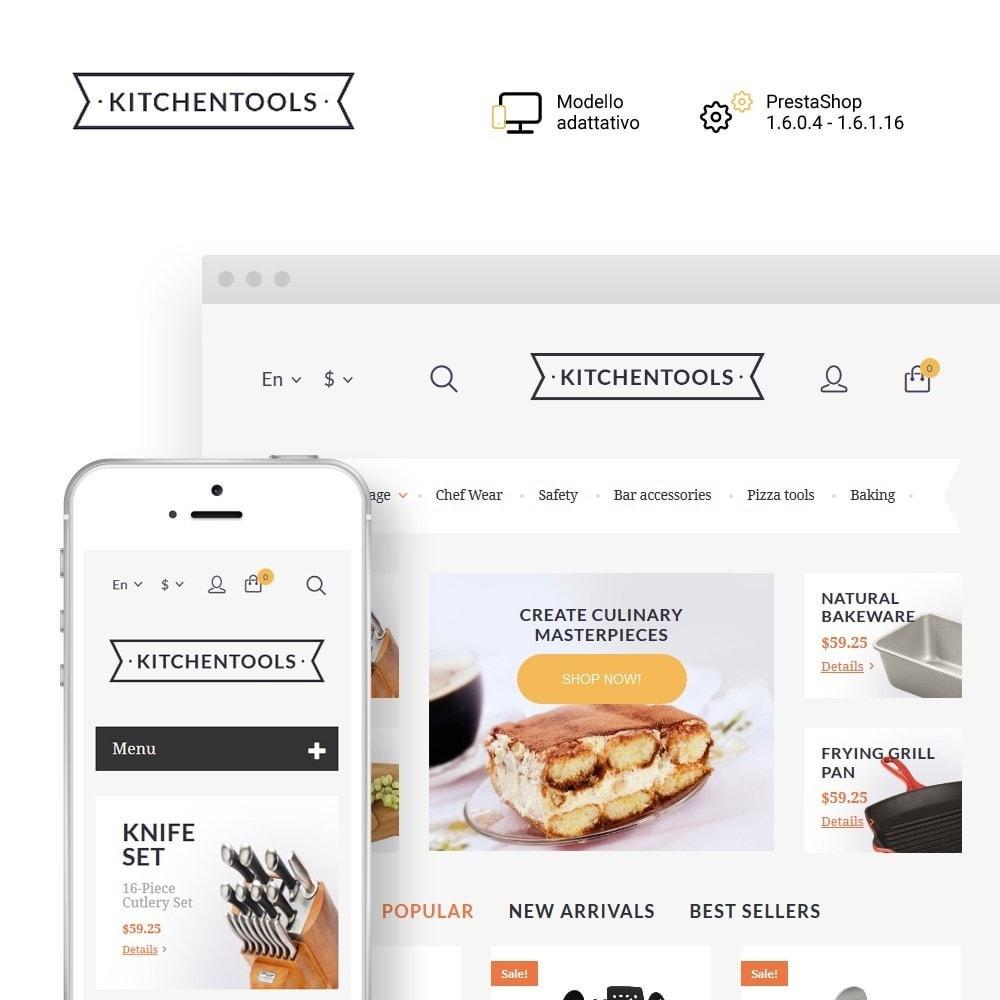 theme - Arte & Cultura - Kitchen Tools - 1