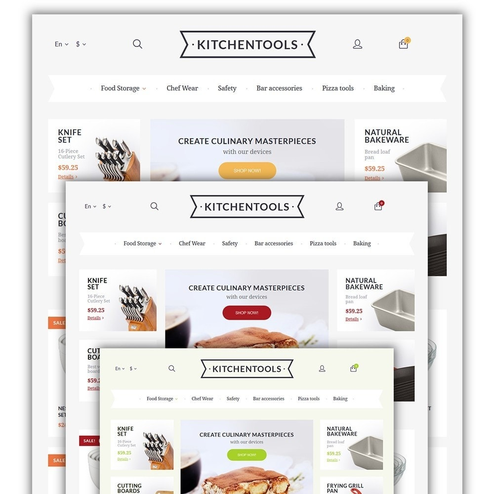 theme - Arte & Cultura - Kitchen Tools - 2