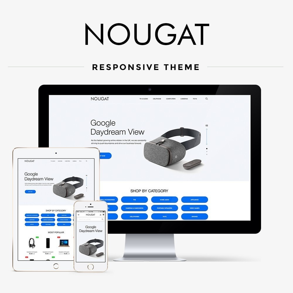 theme - Elektronica & High Tech - Nougat - High-tech Shop - 1