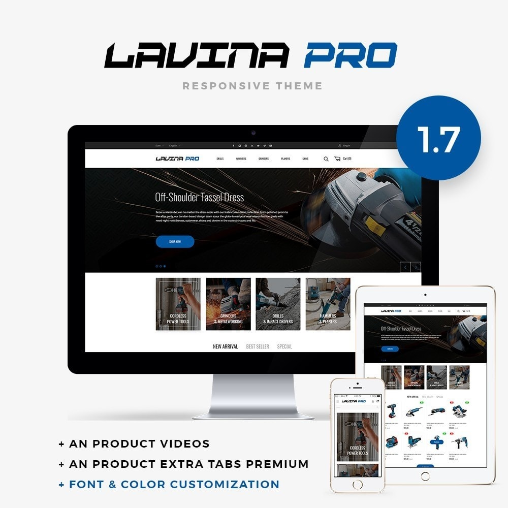 theme - Elettronica & High Tech - Lavina pro - 1