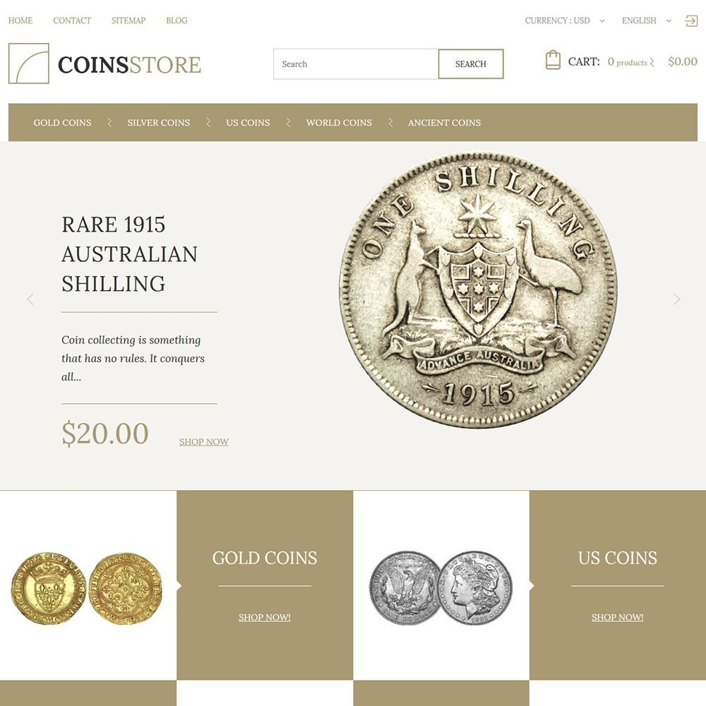 theme - Home & Garden - Coin Store - 2