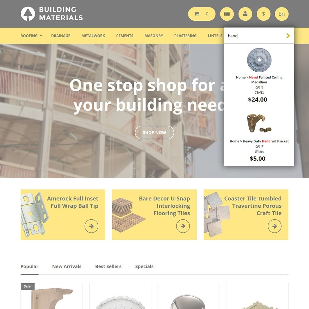 theme - Дом и сад - Building Materials - Building Store - 6