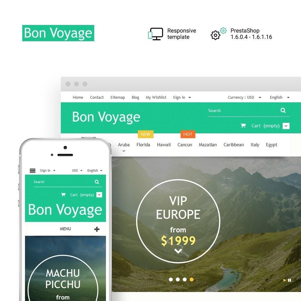 theme - Desporto, Actividades & Viagens - Bon Voyage - Travel Agency - 1