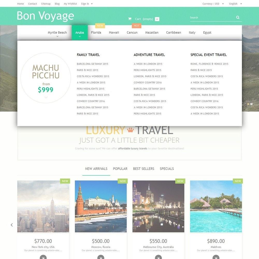 theme - Desporto, Actividades & Viagens - Bon Voyage - Travel Agency - 5