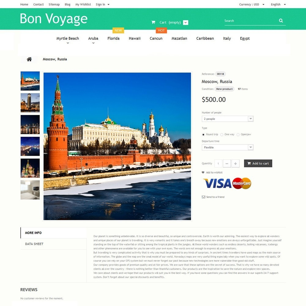 theme - Sport, Loisirs & Voyage - Bon Voyage - Travel Agency - 3