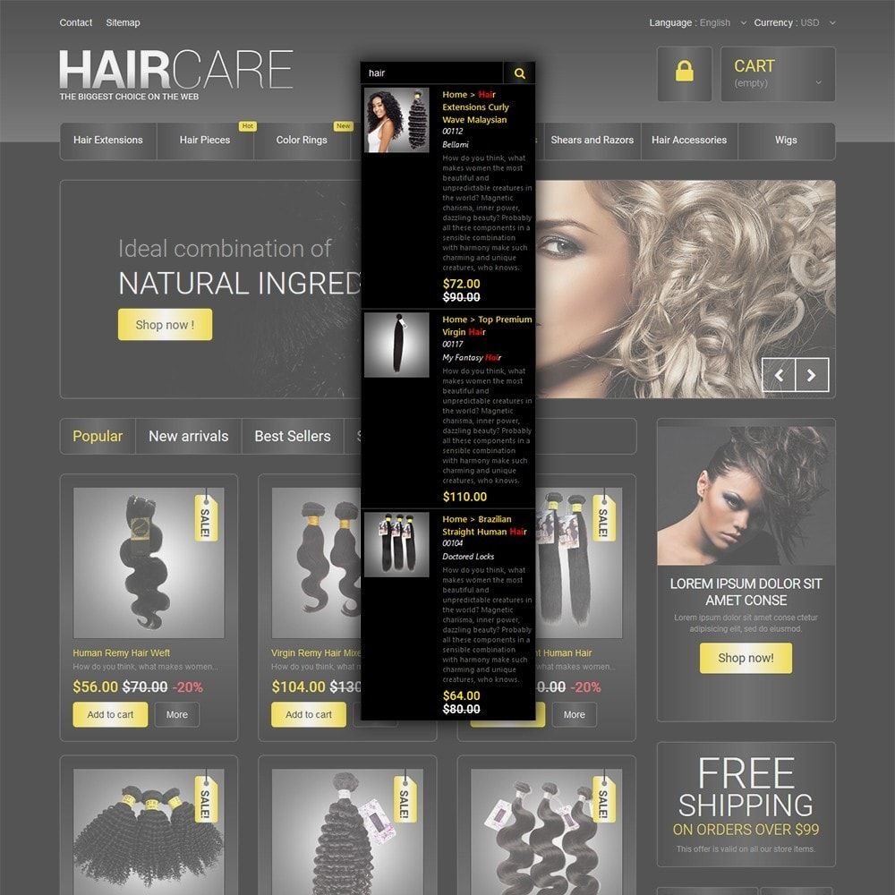 theme - Moda & Calzature - HairCare - The Biggest Choice On The Web - 6