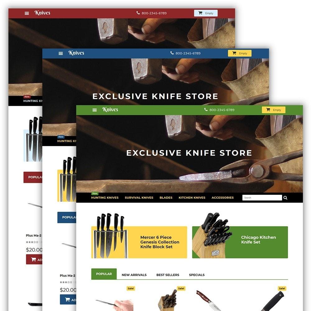 theme - Kunst & Kultur - Knives - Housewares Store - 2