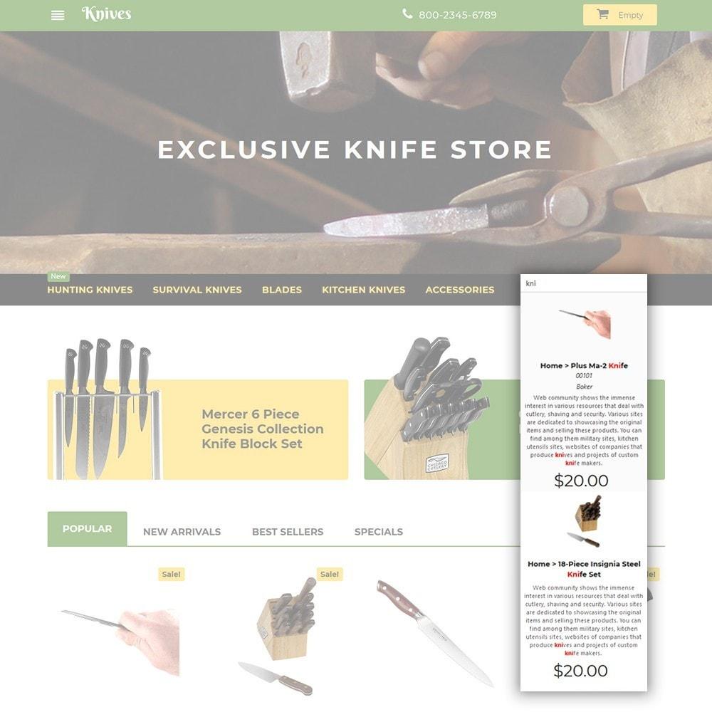 theme - Arte e Cultura - Knives - Housewares Store - 6