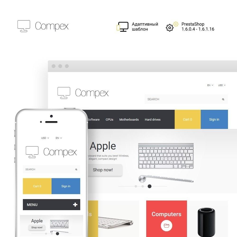theme - Электроника и компьютеры - Compex - Computer Repair - 1