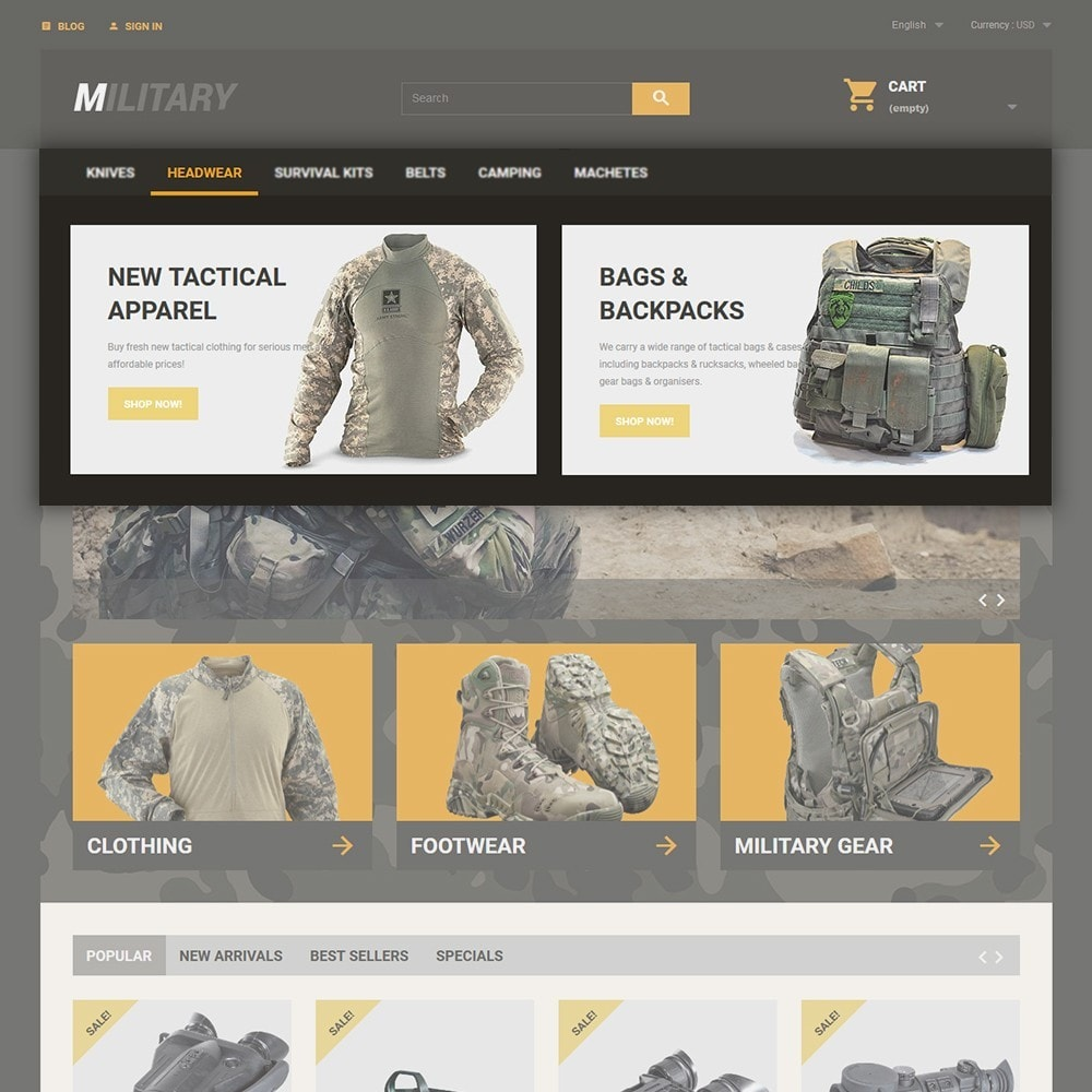 theme - Sport, Loisirs & Voyage - Military - 4