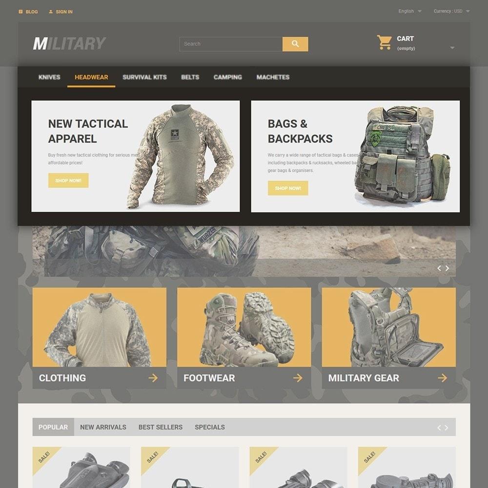 theme - Спорт и Путешествия - Military - 4
