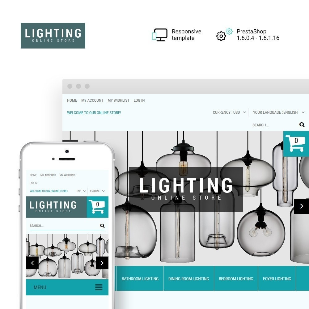 theme - Home & Garden - Lighting Online Store - Lighting & Electricity Store - 1