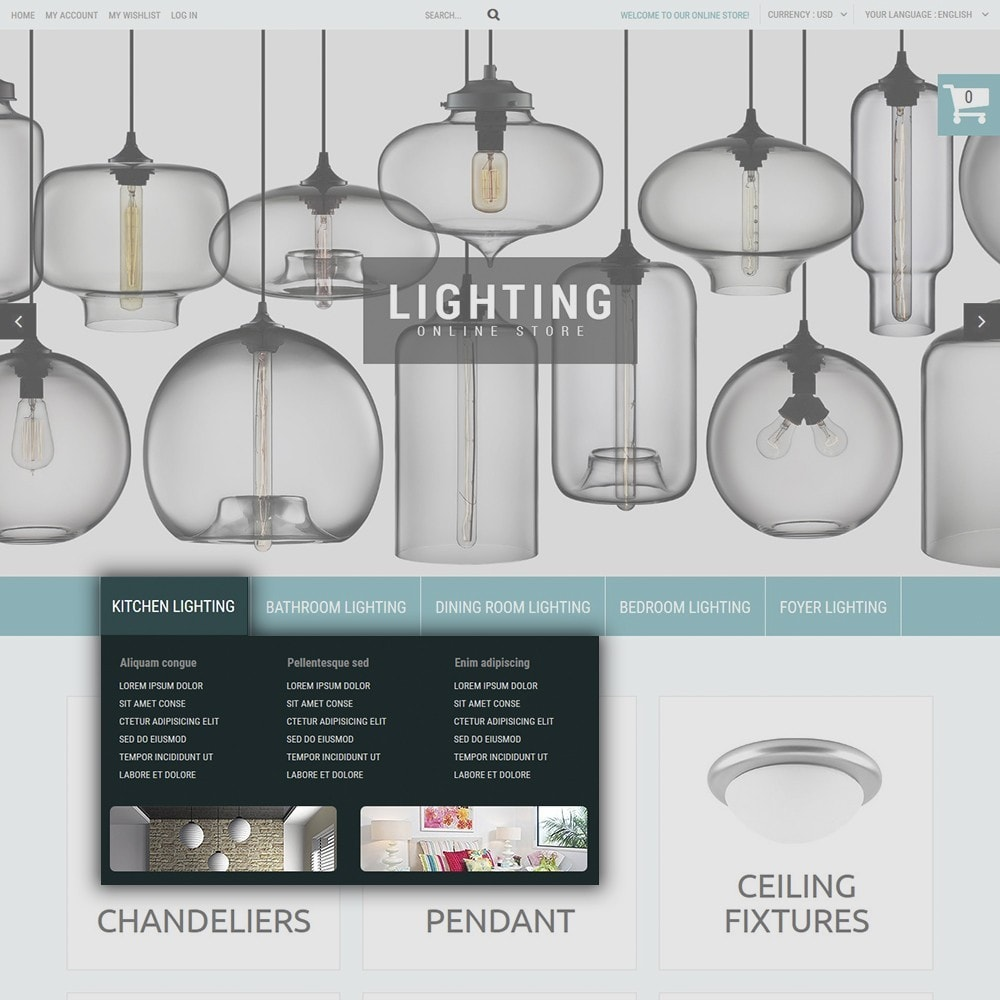 theme - Home & Garden - Lighting Online Store - Lighting & Electricity Store - 6