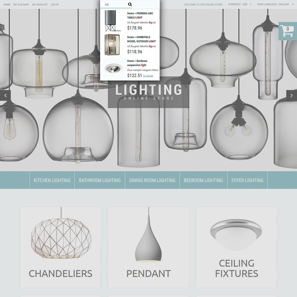 theme - Hogar y Jardín - Lighting Online Store - Lighting & Electricity Store - 5