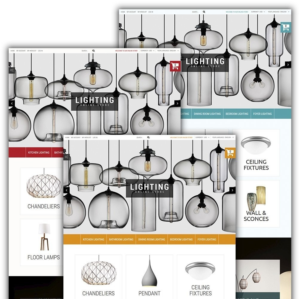theme - Дом и сад - Lighting Online Store - Lighting & Electricity Store - 2