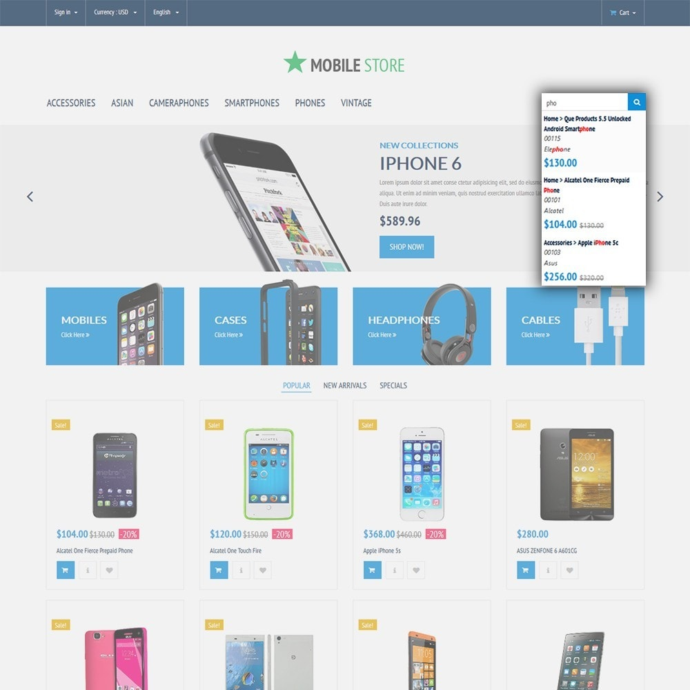 theme - Electronics & Computers - Mobile Store - 6