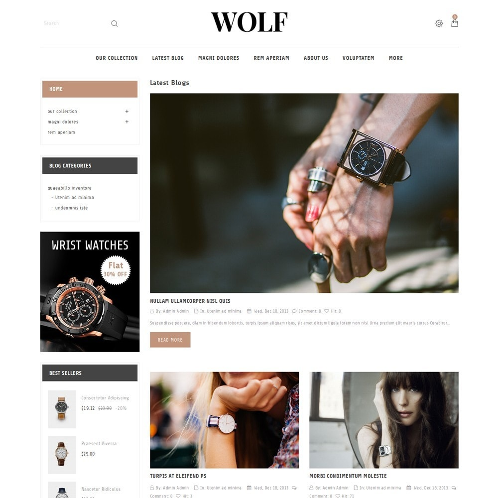 theme - Electronics & Computers - Wolf Watch Store - 7