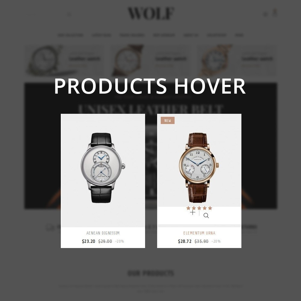 theme - Electronics & Computers - Wolf Watch Store - 10