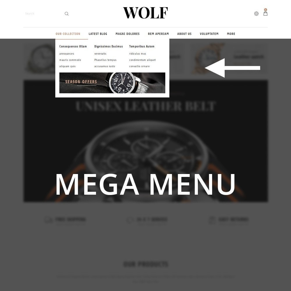 theme - Electronics & Computers - Wolf Watch Store - 11