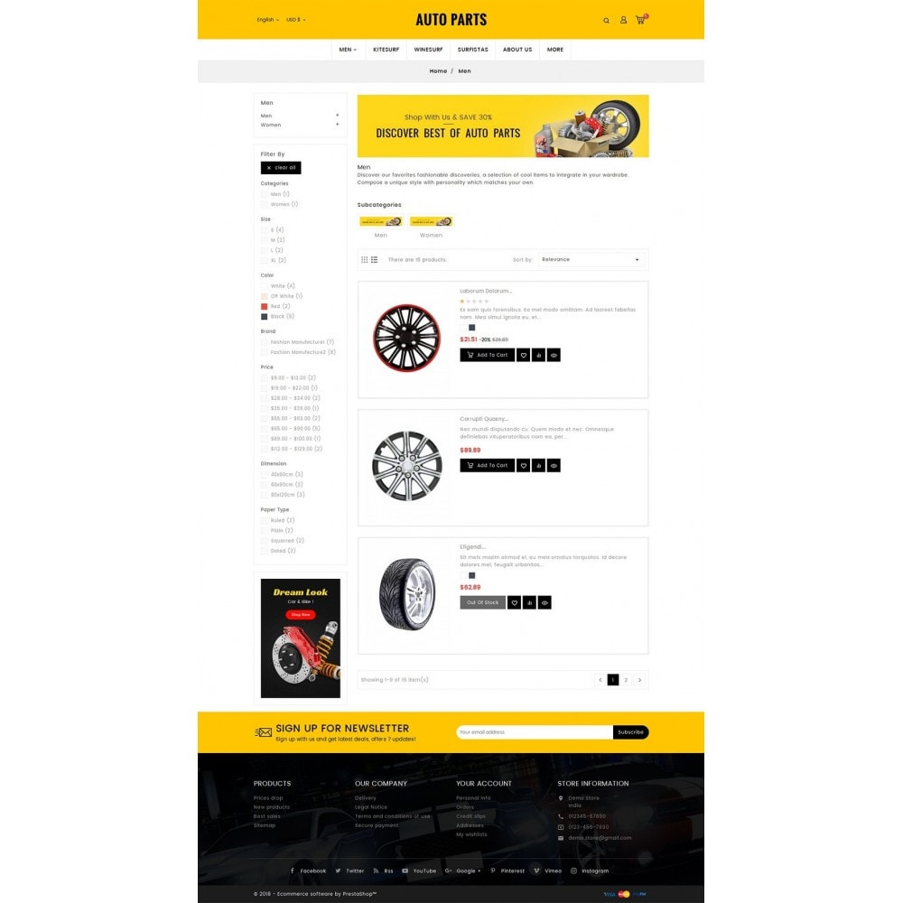 theme - Auto's & Motoren - Auto Equipment & Parts - 4