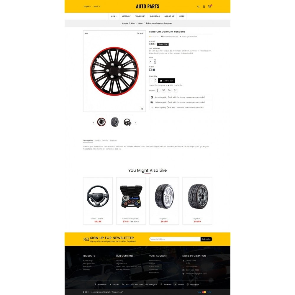 theme - Auto's & Motoren - Auto Equipment & Parts - 5