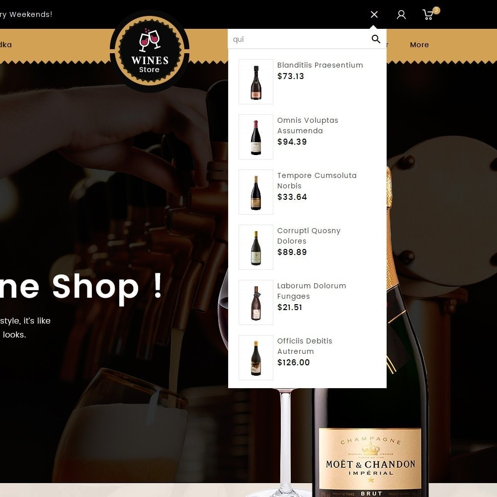 theme - Drink & Tobacco - WineYard Store - 9