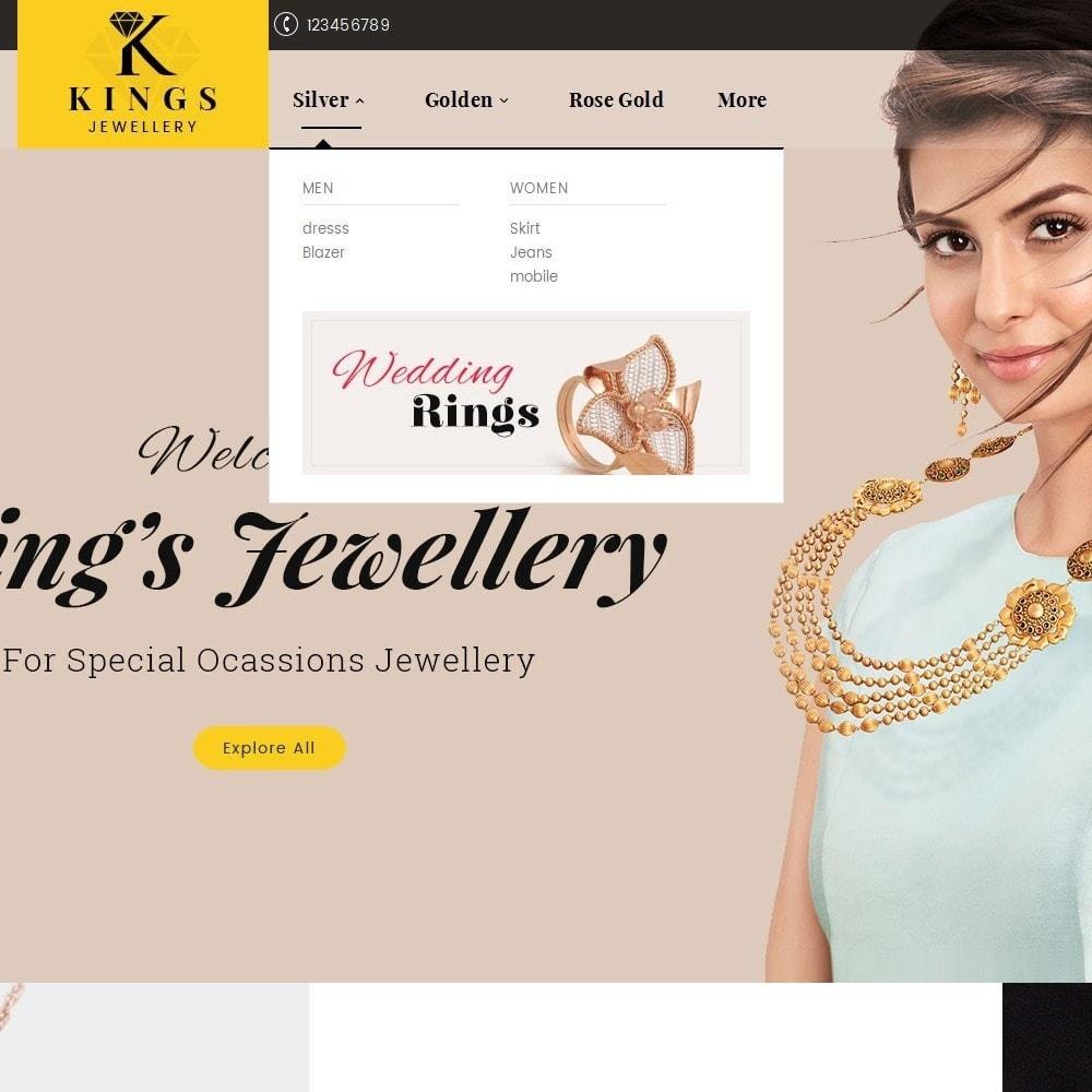 theme - Ювелирные изделия и Аксессуары - Kings Jewelry - 8