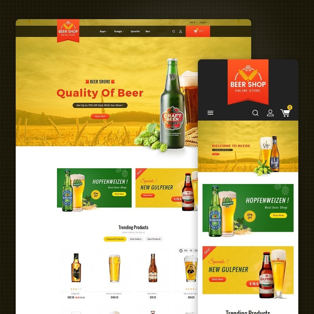theme - Drink & Tobacco - Beer & Winery - 1