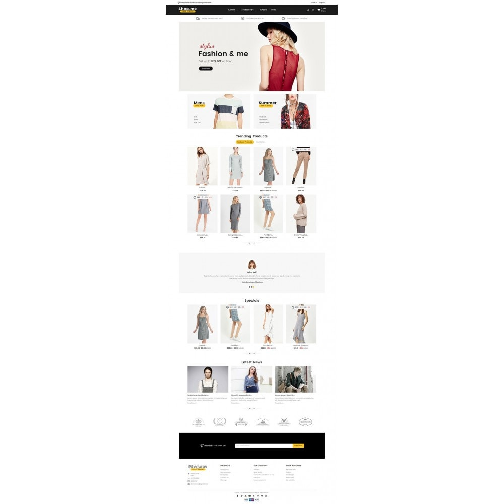 theme - Мода и обувь - Shopme Fashion Apparels - 2